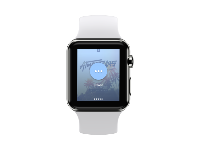 Smart watch mockup vibez music 2